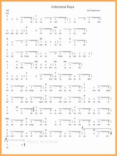 not angka lagu indonesia raya lagu wajib