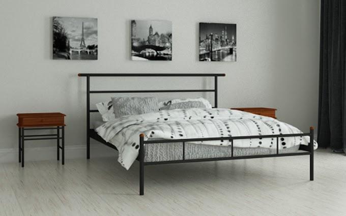 Кровать металлическая Диаз 80х190/200 ТМ Мадера