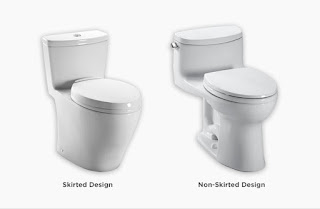 Skirted toilet pros and cons