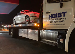 Call Hoist Towing and Recovery for 24-hour emergency roadside assistance in Prescott,