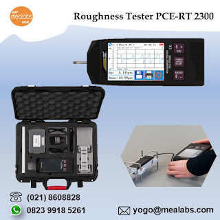 Alat Ukur Kekasaran Permukaan Roughness Tester PCE-RT 2300