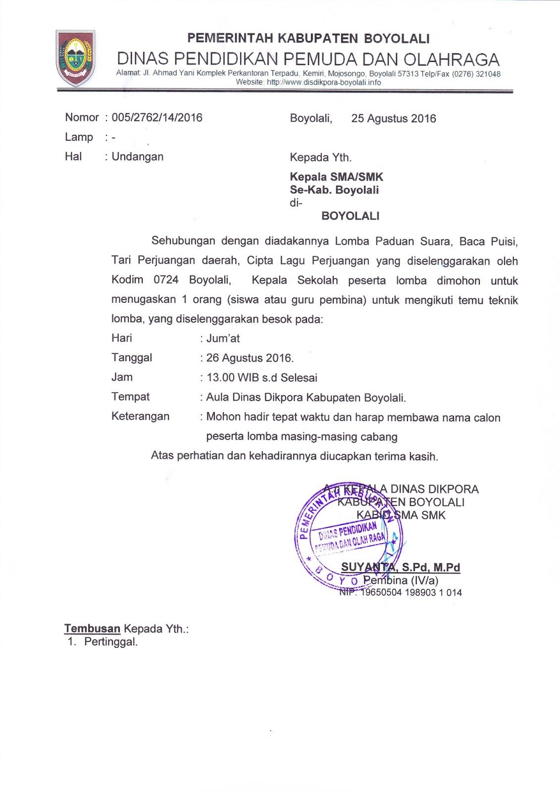 INFO SMA SMK KABUPATEN BOYOLALI: UNDANGAN TEMU TEKNIK ...