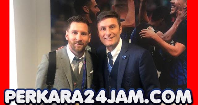 Zanetti Jadi Faktor Intermilan Untuk Datangkan Lionel Messi