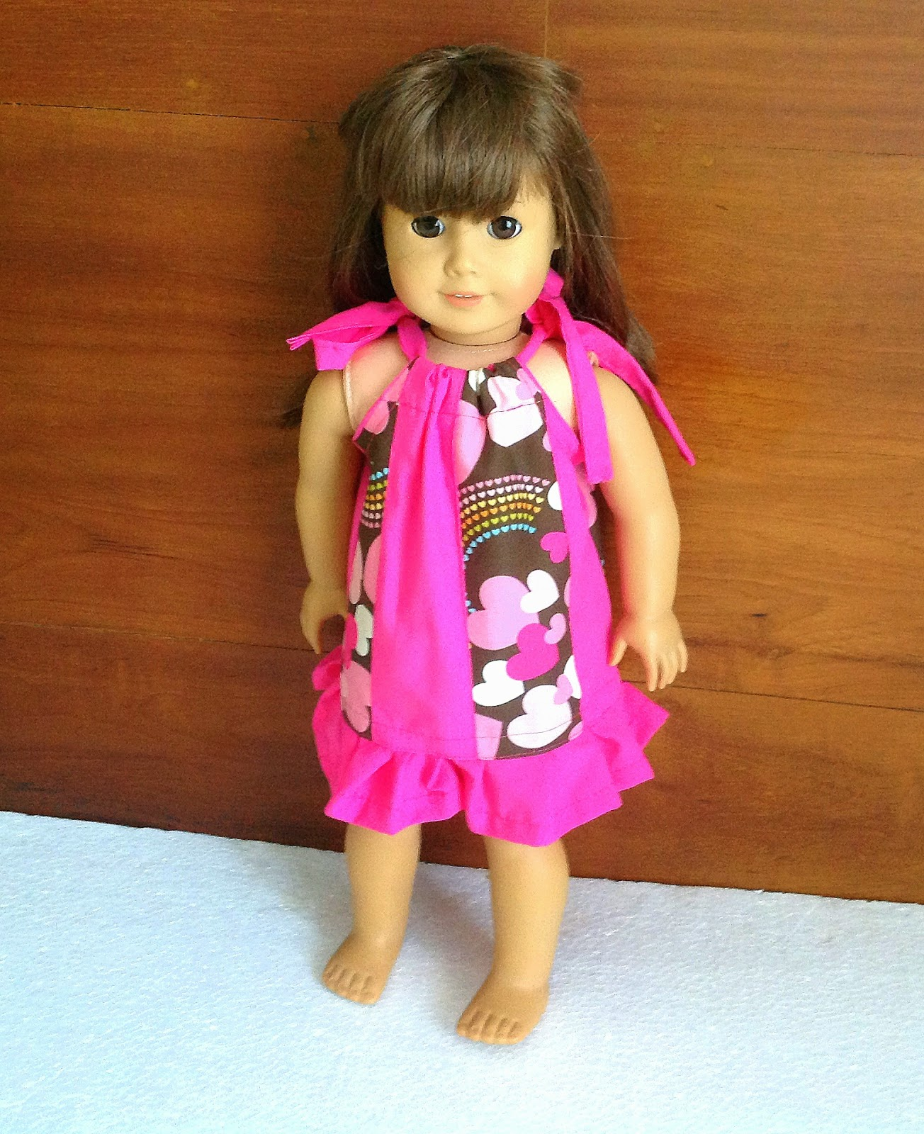 Pillowcase Dress Pattern For 18 Inch Doll: Sewing Patterns for Girls Dresses and Skirts  Pillowcase Dress    ,