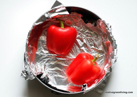 Easy pepper recipe #creativegreenliving