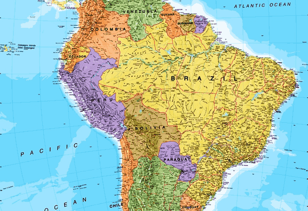 letak astronomis, geografis, dan geologis brazil