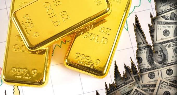 Los precios del oro caen brevemente por debajo de la media móvil de 200 días a medida que los precios del oro registran un retroceso importante