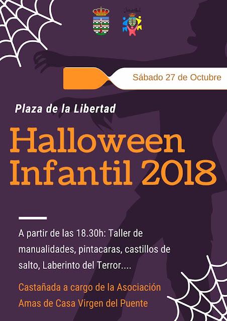 Halloween 2018 en Villanueva del Trabuco