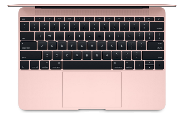 Apple has updated 12 inch Retina MacBook with a new color option Rose Gold
