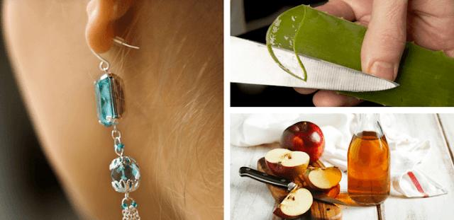 remedios para la alergia a la bisutería