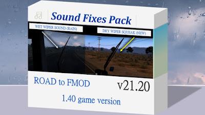 Sound Fixes Pack v21.20 - ETS2 1.40