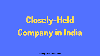 closely held company meaning