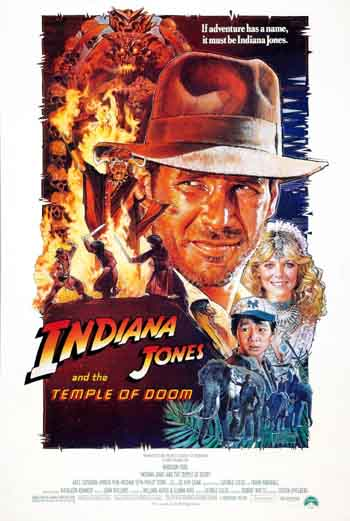 Indiana Jones and the Temple of Doom 1984 300MB BRRip Dual Audio