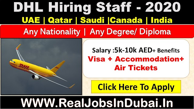 DHL Jobs In UAE , Saudi , Qatar , India & Canada.