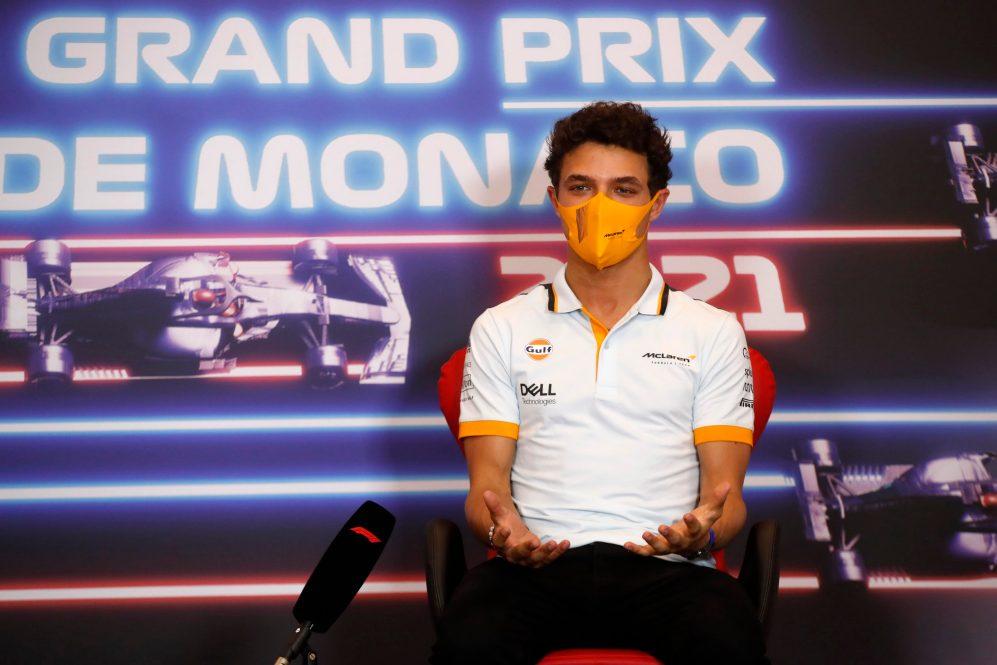 Norris disse que não havia razão para ele olhar para fora da McLaren