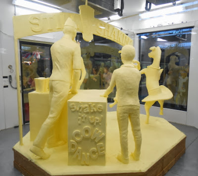 Pennsylvania Farm Show 1,000 Pound Butter Sculpture