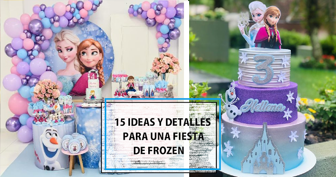15 ideas de decoración al estilo Frozen