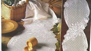 Patrones de Camino de Mesa tejido al crochet