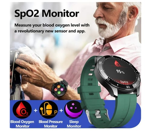 MorePro Fitness Tracker Smart Watch with 10 Sports
