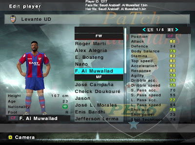 PES 6 Patch Arab Stars 2018 Season 2017/2018
