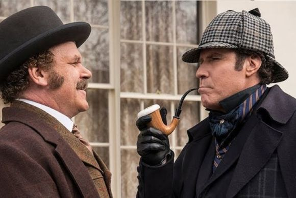 """John C. Reilly and Will Ferrell in """"Holmes & Watson"""""""