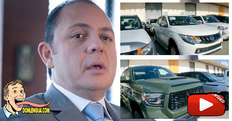 Raúl Gorrín involucrado en compra de 81 vehículos de lujo en EEUU para el régimen de Maduro