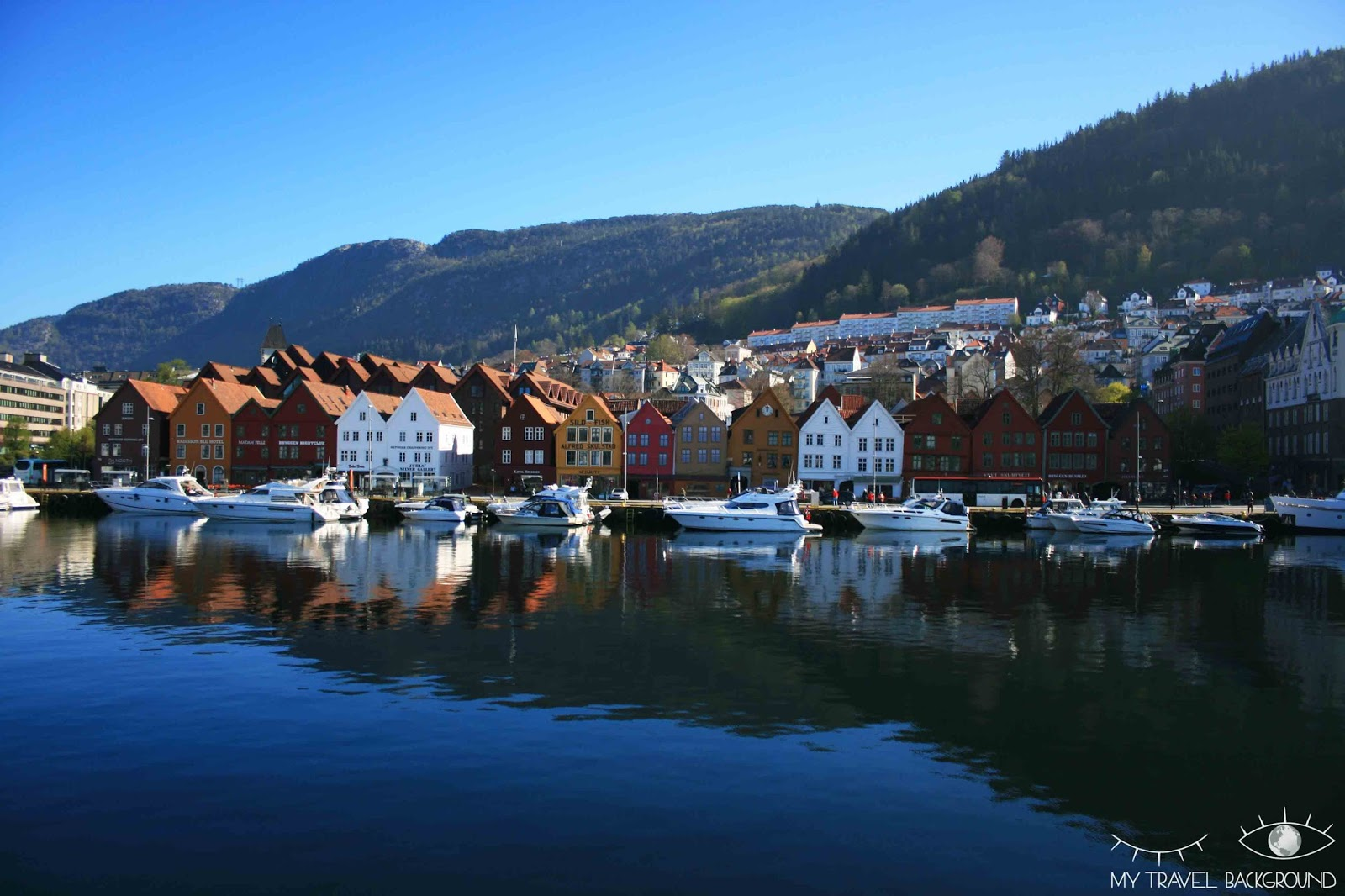 My Travel Background : Cartes Postales de Norvège - Bergen