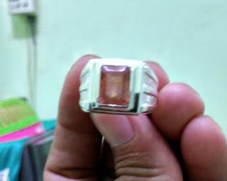 Batu Natural Orange Sapphire Tanzania (Est)