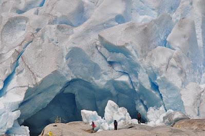 Glacier people Norway