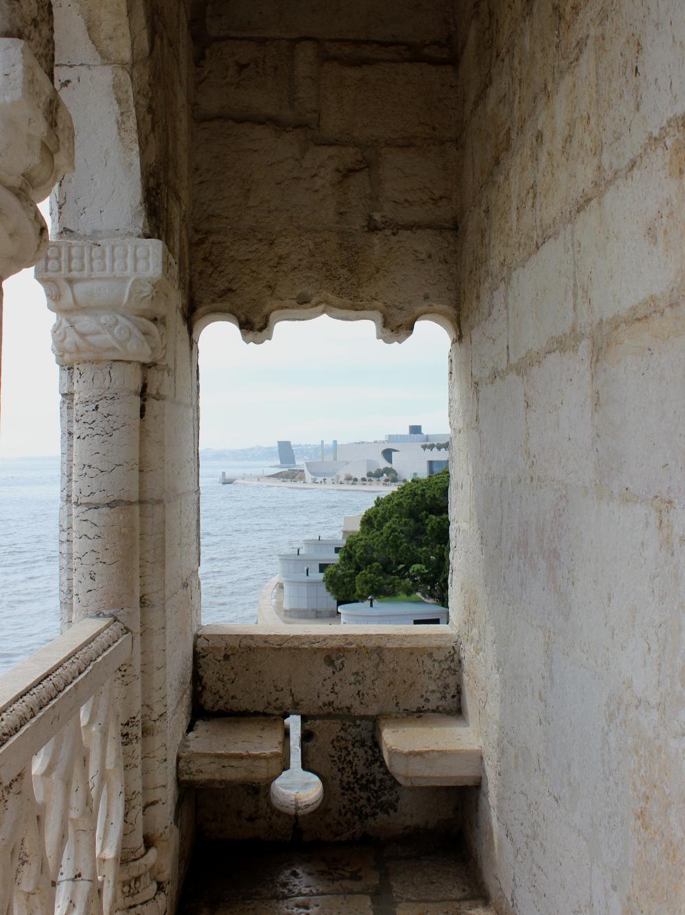 Lissabon Lisbon Lisboa Travel Diary Reise Bericht Tipps Torre de Belem Tower Kings Room Balcony