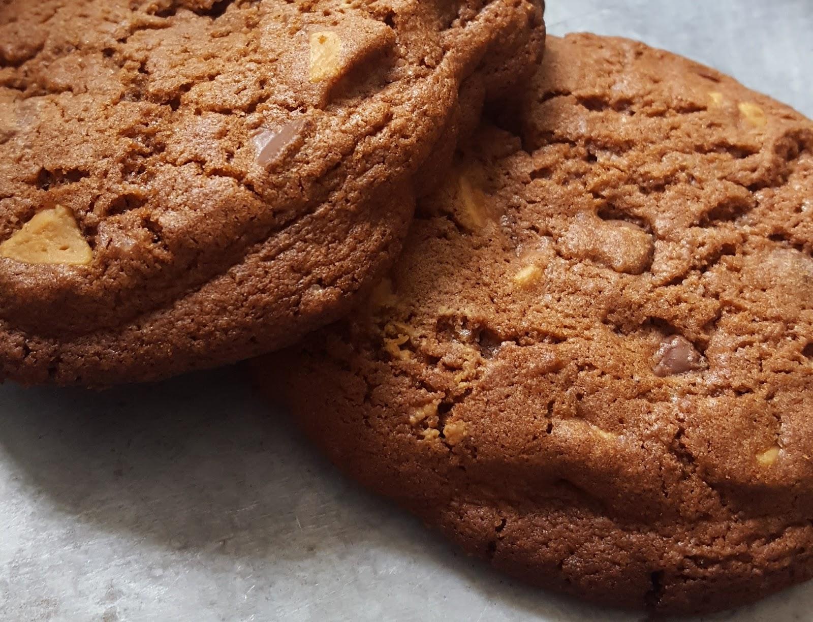 Petits paradis cookies chocolat et beurre de cacahu te reese 39 s - Cookies beurre de cacahuete ...