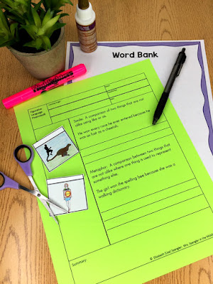 These interactive guided notes have structure AND visuals - the best of both worlds!  #middleschool #interactivenotebooks