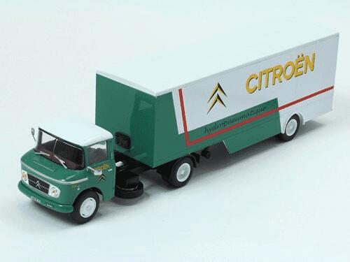 coleccion camiones articulados, camiones articulados 1:43, Citroën T55 Heuliez camiones articulados