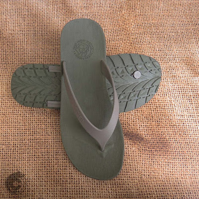 WR Olive Grey Sandal Pria Camou
