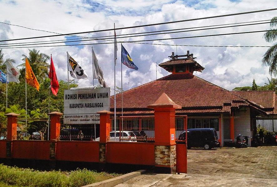 Hasil Swab 1 Staff Dinyatakan Positif, Gedung KPU Purbalingga Langsung di Sterilisasi