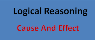Cause and Effect Quiz – Reasoning Questions and Answers    Logical Reasoning   Cause and Effect