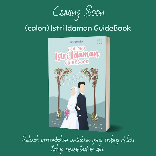 Pre Order Buku (calon) istri idaman guidebook