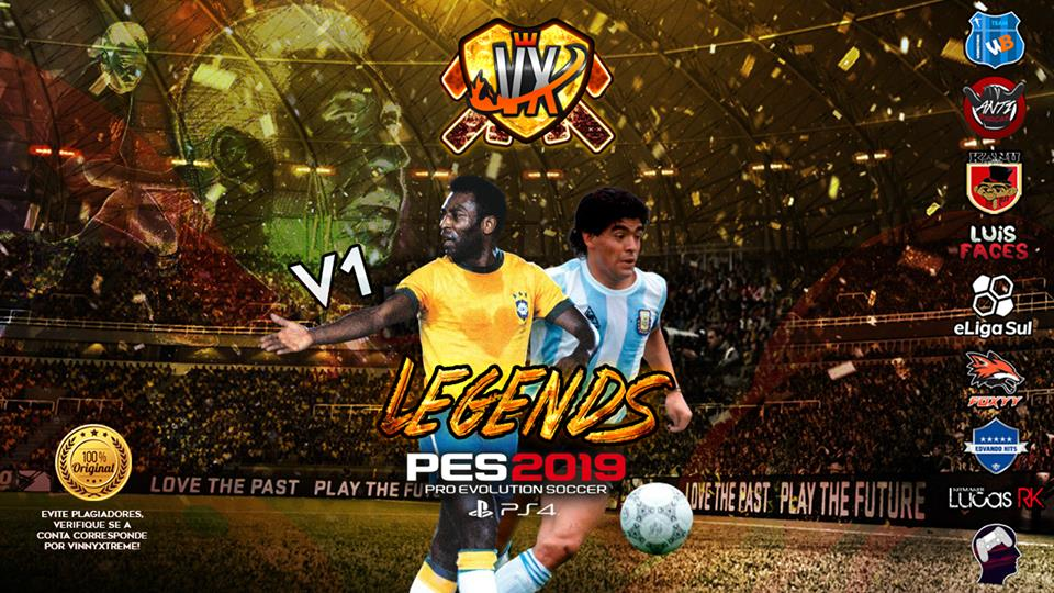 PES 2019 PS4 Legends Option File Vinny Xtreme ~ SoccerFandom com