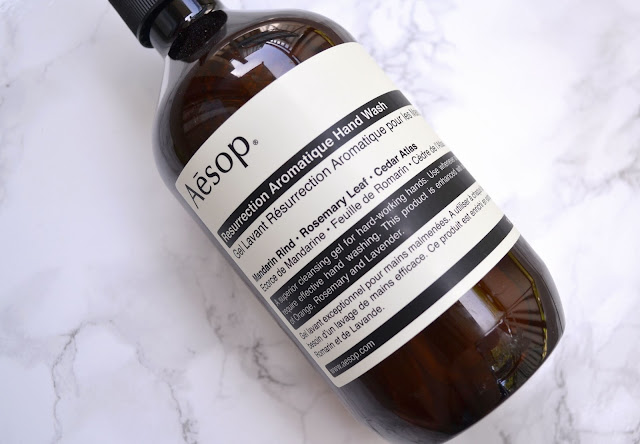 Aesop Resurrection Aromatic Hand Wash Review