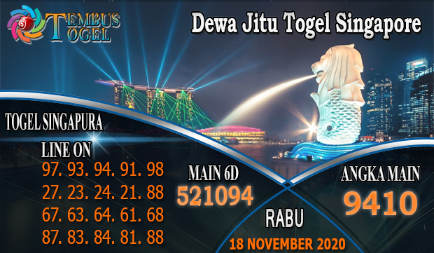 Dewa Jitu Togel Singapore Hari Rabu 18 November 2020