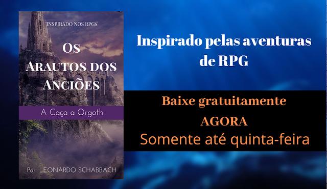 Pegue gratuitamente AGORA na Amazon esse livro de fantasia baseado em D&D! (Até quinta-feira)