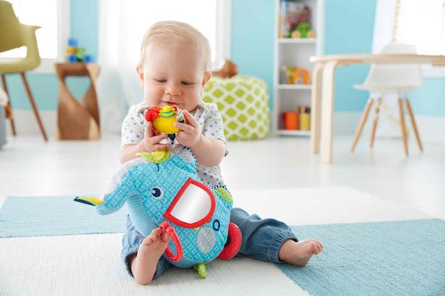 Z tymi zabawkami niemowlak nie będzie się nudził - informacja prasowa