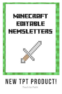 https://www.teacherspayteachers.com/Product/Minecraft-Classroom-Theme-Edible-Newsletters-2643060