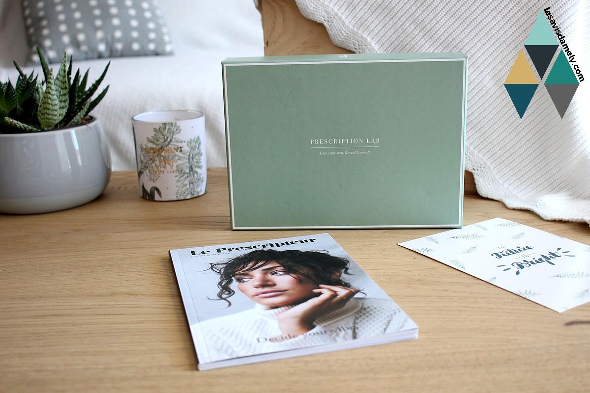 revue beauté box beauté mensuelle abonnement prescription lab