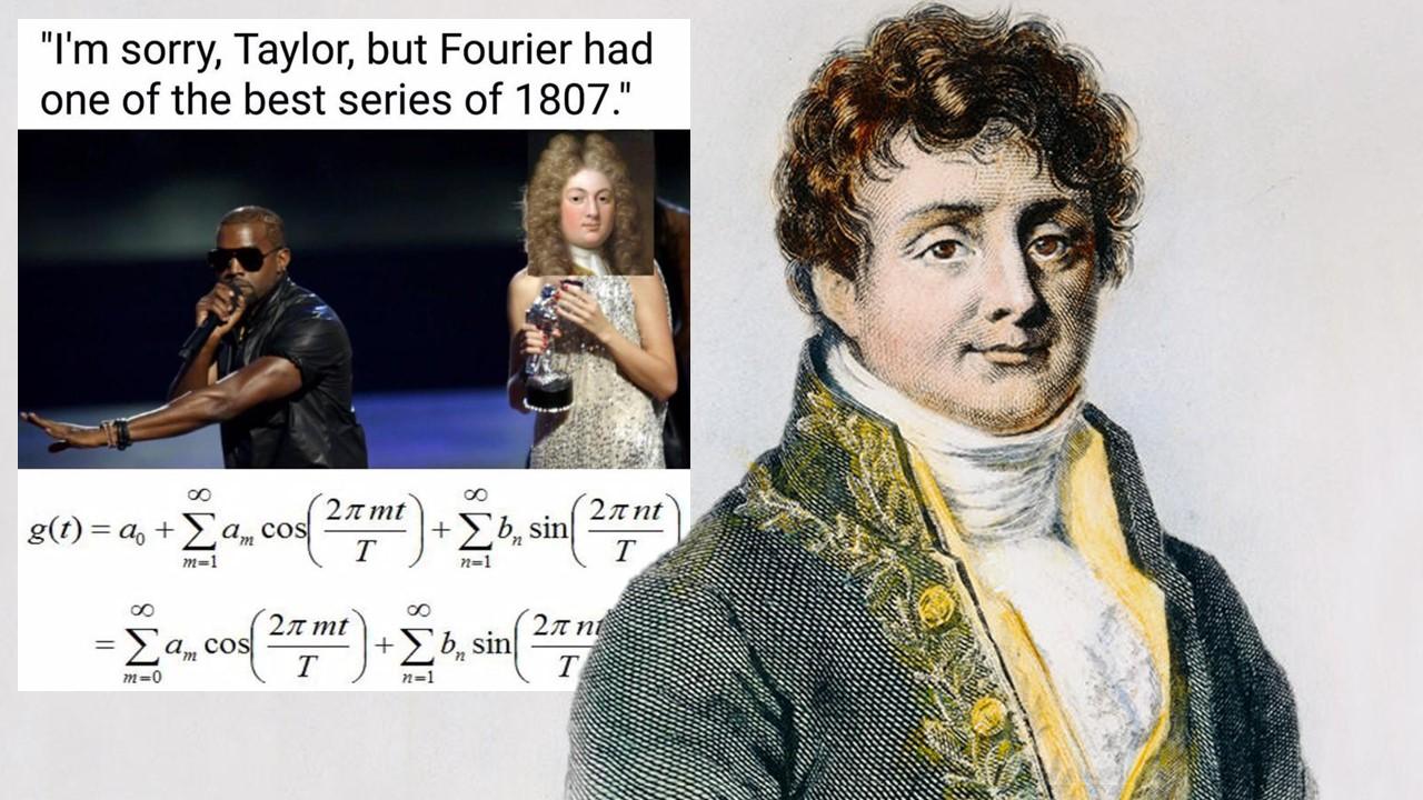 joseph fourier series transform physics maths