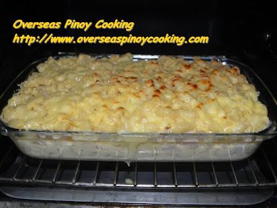 Baked Macaroni and Cheese Pinoy Style Recipe - Baking