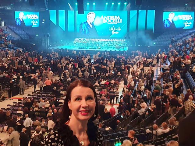 Andrea Bocelli WorldTour2019 Helsinki Finland