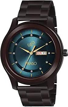 PIRASO Analogue Classic Black Watch for Men