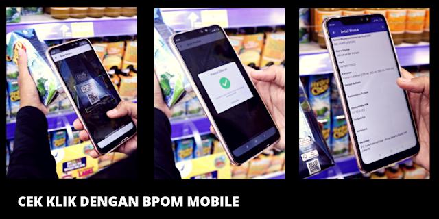 Cara menggunakan BPOM Mobile Cek klik
