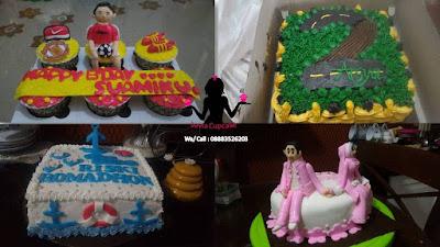 Toko kue ulang tahun pesanan paling digemari di Sidoarjo